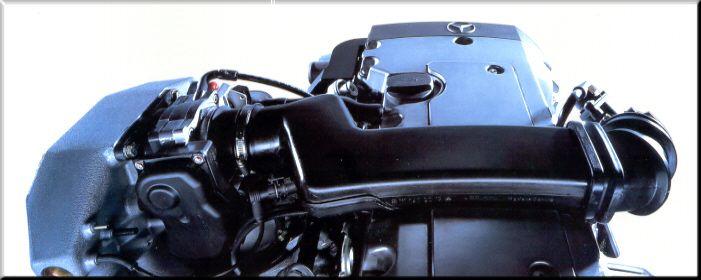 4-Zylinder-Reihenmotor des E 220