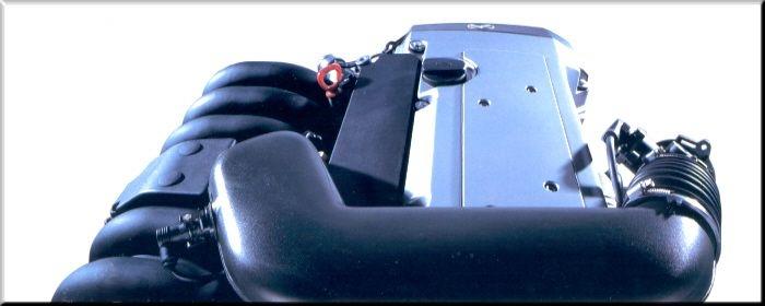 Der 6-Zylindermotor des E 320